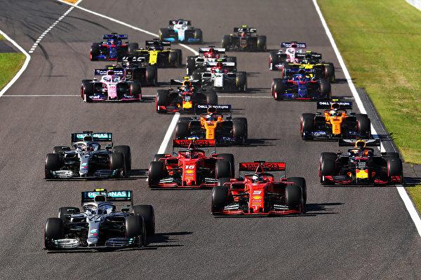 F1日本站:梅奔提前四站實現車隊「六連冠」