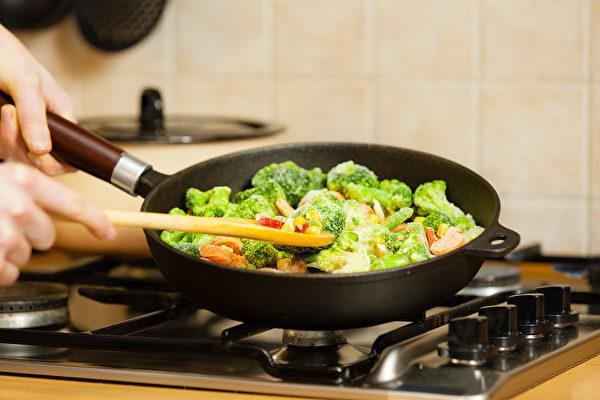 forzen vegetable, shutterstock