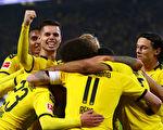 德甲第8轮,多特蒙德在主场1:0击败门兴