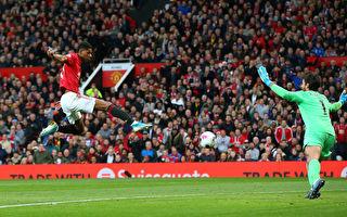英超第9輪 曼聯在主場1:1逼平利物浦