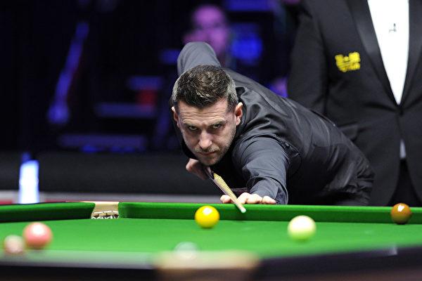英格蘭36歲斯諾克名將馬克·塞爾比(Mark Selby)