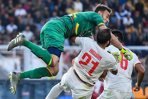 意甲第9輪,尤文圖斯客場1:1被保級球隊萊切逼平。