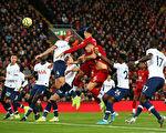 英超第10輪,利物浦主場2:1逆轉熱刺