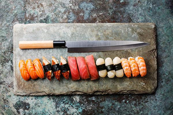 chef knife, shutterstock