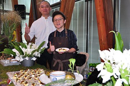 融入客家食材的义式料理有一种特殊的风味