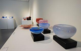 新竹玻工馆展出玻璃与陶瓷完美交织百件作品