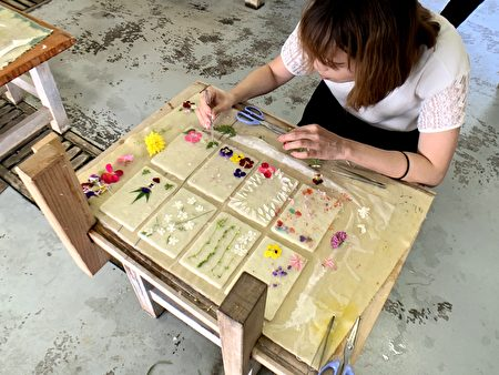 体验制作日本三大和纸之一的土佐和纸。