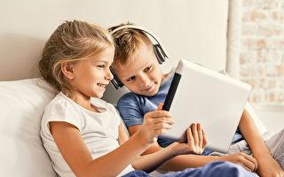 研究:孩子常看屏幕設備影響大腦發育