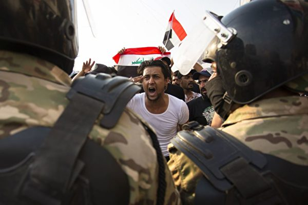 伊拉克反贪抗议 逾104死6千多人伤