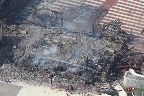 日本世界遺產陷火海 首里城三大殿全燒毀