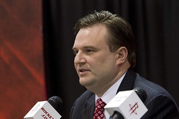 NBA火箭队总经理辞职 央视称付出代价引猜测