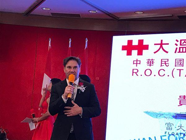 圖:溫哥華舉辦「中華民國建國108年雙十國慶晚宴」,近千位台灣僑胞、政商名流及各國代表齊聚一堂。(邱晨/大紀元)