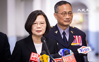藍委涉推女警 蔡總統:盼選舉言行不要過度