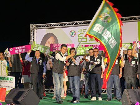 蔡英文刘建国 西螺竞选总部26日成立