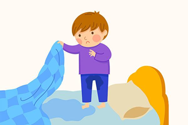 小孩长大了还会尿床,是夜遗尿现象,如何治疗?(Shutterstock)