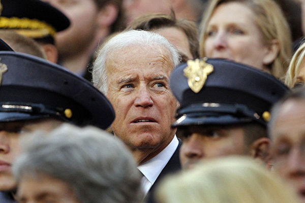 PHILADELPHIA - DECEMBER 8: Vice President of the United States Joe Biden watches a game between the Army Black Knights and the Navy Midshipman on December 8, 2012 at Lincoln Financial Field in Philadelphia, Pennsylvania. Navy won 17-13. (Photo by Hunter Martin/Getty Images)