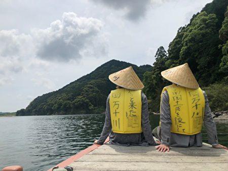 """""""四万十川""""号称""""日本最后的清流""""。"""