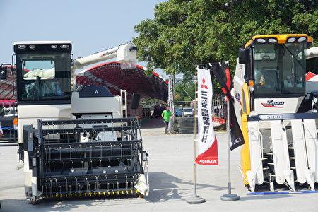 每年的农机展当中,都可以看到厂商推出更新颖、更方便的机械设备