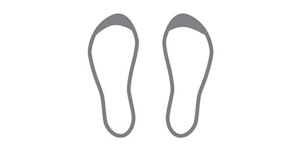 鞋底磨損類型之:鞋頭磨損。(三采文化提供)