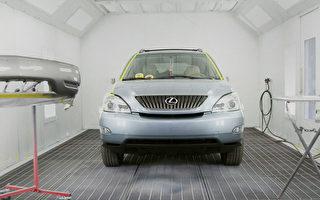 湾区车身修理 JP超出保险范围  修好后犹如新车