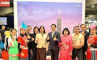 臺灣「山脈旅遊」驚艷蒙特利爾國際旅展