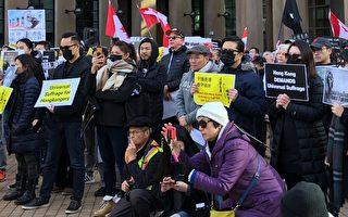 近千人温哥华集会 撑香港人坚守自治