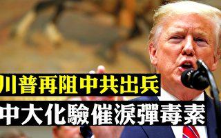 【拍案惊奇】川普阻共军入港 人大干预香港司法