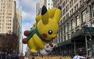 紐約梅西感恩節大遊行 曼哈頓人山人海