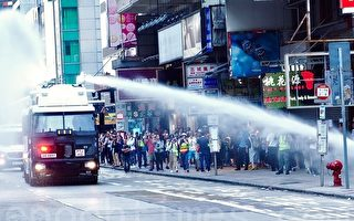 組圖:全港三罷 港警開真槍傷人 引發民憤