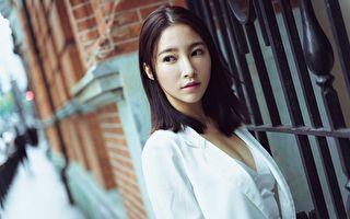 张家玮重返8点档扮富家女 新造型时尚优雅