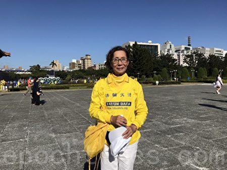 法輪大法洪傳世界 6500法輪功學員台灣排字