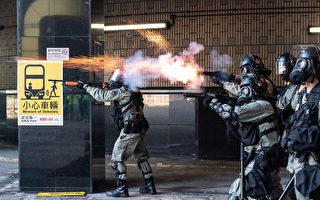 组图:港理工大被困抗议者多次尝试突围(二)