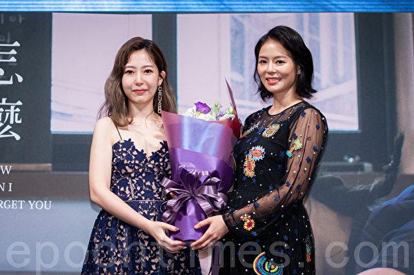 唐芯(左)刘香慈(右)