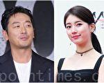 河正宇(左)与秀智(右)在片中合演夫妻。