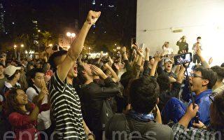 香港27岁学生 以选票击败建制派政治明星