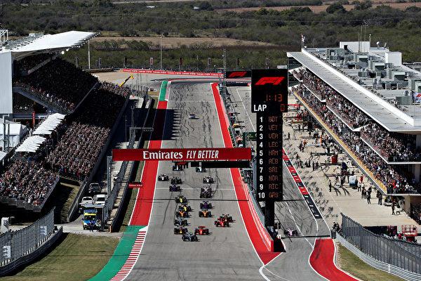 F1美国站:汉密尔顿提前两站夺车手总冠军