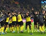 欧冠F组赛第4轮 多特蒙德以3:2逆转击败国际米兰