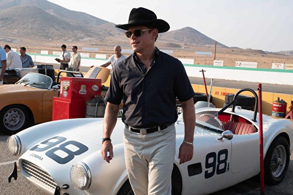 Matt Damon《賽道狂人》(Ford v Ferrari)
