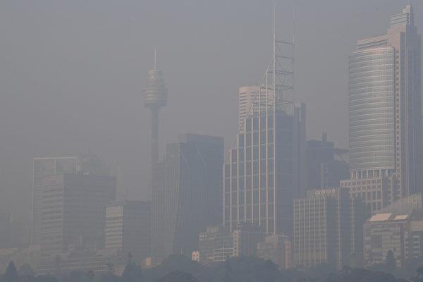悉尼空氣質量惡劣