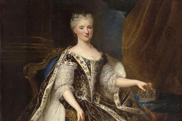 虔诚奉献的法国王后玛丽?莱什琴斯卡与她的品味