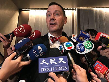 台北美國商會執行長傅威廉19日受訪表示,美台關係現在非常好。