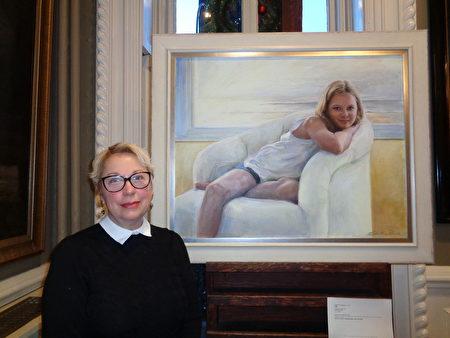 大赛获奖画家:画展呈现了许多美好事物