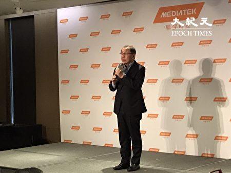 聯發科執行長蔡力行說,聯發科在未來將發布一系列5G應用的產品。