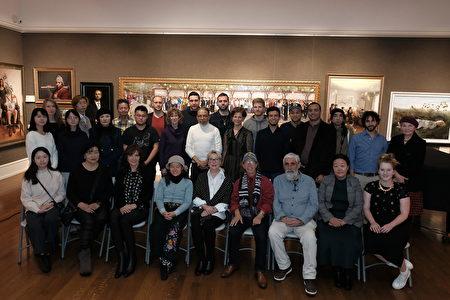 入围选手聚纽约 新唐人油画大赛隆重登场