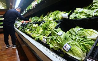 A man shops for vegetables beside Romaine lettuce stocked and for sale at a supermarket in Los Angeles, California on May 2, 2018, where the first death from an E Coli contaminated Romaine lettuce outbreak was reported. (Photo by Frederic J. BROWN / AFP) (Photo credit should read FREDERIC J. BROWN/AFP via Getty Images)
