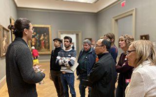 油畫大賽選手參觀大都會博物館「收穫大」