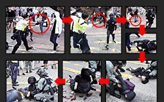 港警開槍重傷學生 政府誣傷者搶槍卸責