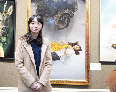展现真相故事 《雪中梅》获油画大赛铜奖