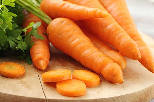 研究發現,吃胡蘿蔔可以降低肺癌風險。(Shutterstock)