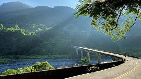 黄文勇拍摄:新竹竹东上坪桥路段。